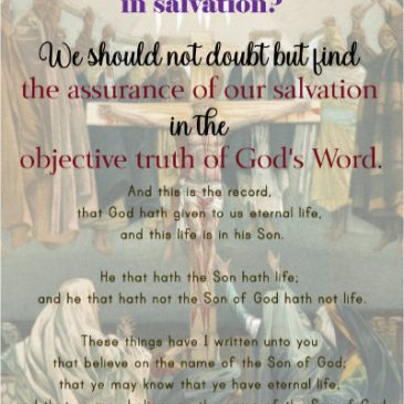 How Can We Know if We Are Truly Saved?