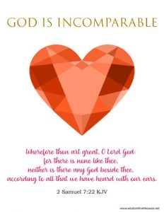 God is Incomparable