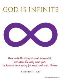 God is Infinite