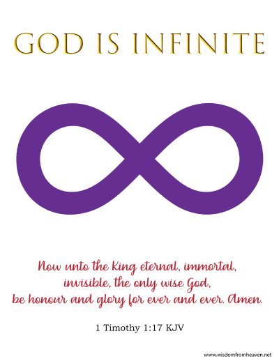 God is Infinite