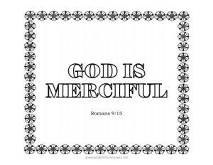 god is merciful