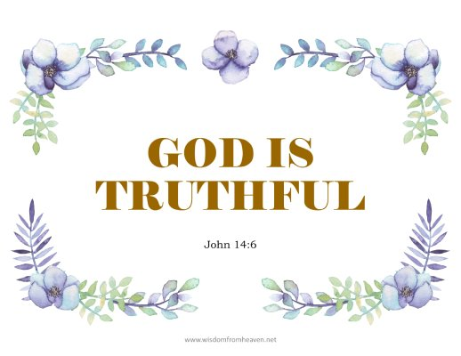 god is truthful
