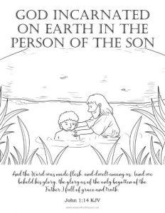 god incarnated on earth