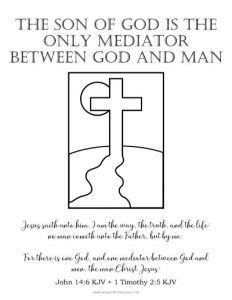 christ is only mediator between god and man