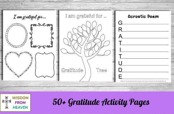 gratitude coloring journal