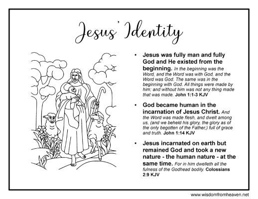 jesus identity