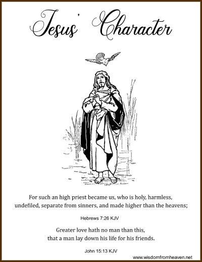 jesus character