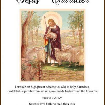 Jesus' Character
