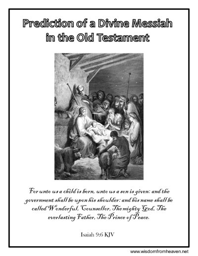 jesus predicted messiah coloring page