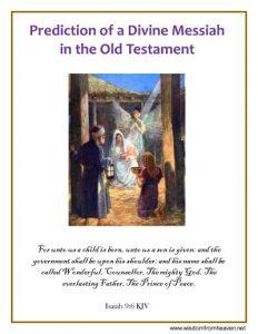 jesus predicted messiah