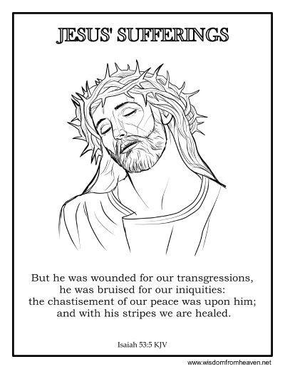 jesus sufferings