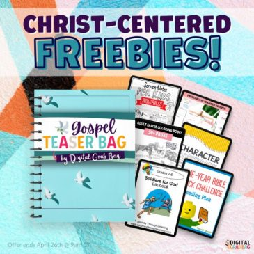 Christ-Centered Freebies – Gospel Grab Bag Teaser