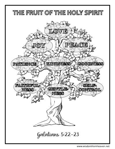 fruit of the holy spirit