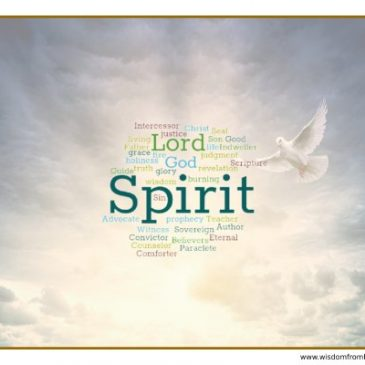 The Names and Titles of the Holy Spirit