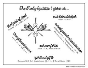 person and nature of the holy spirit
